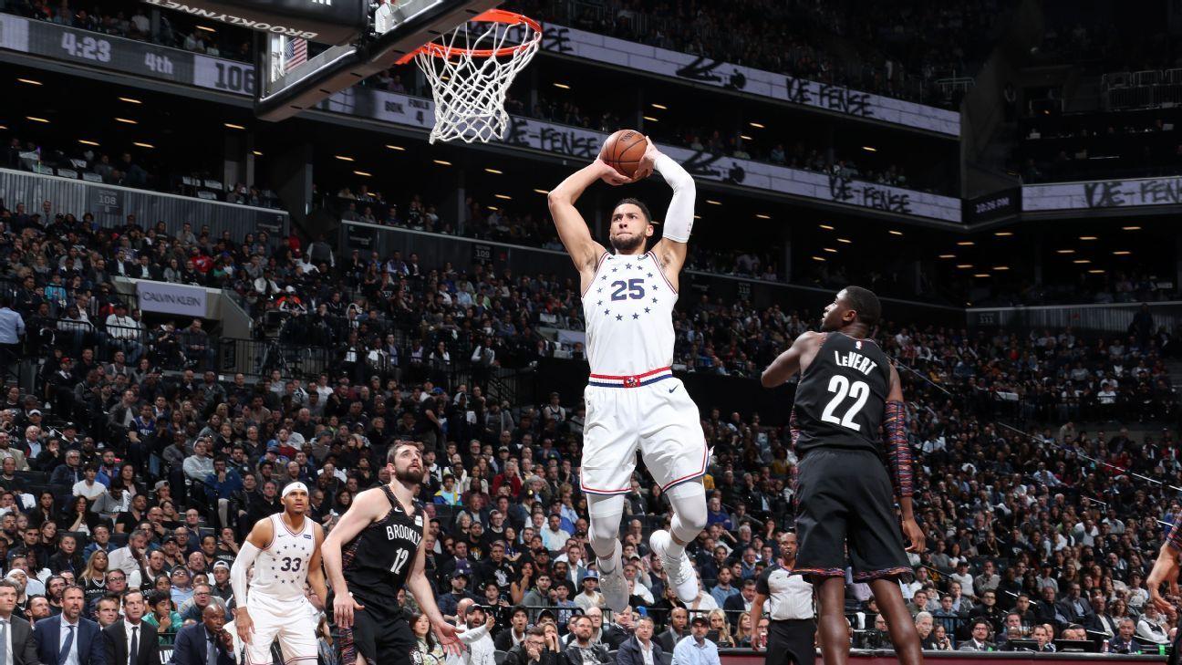 Simmons brinda juegazo tras burlas de Nets