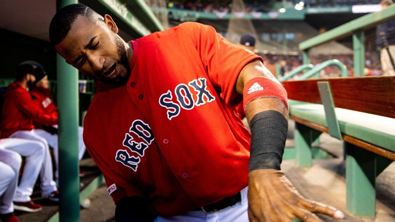 Red Sox: Núñez (espalda), a lista de lesionados