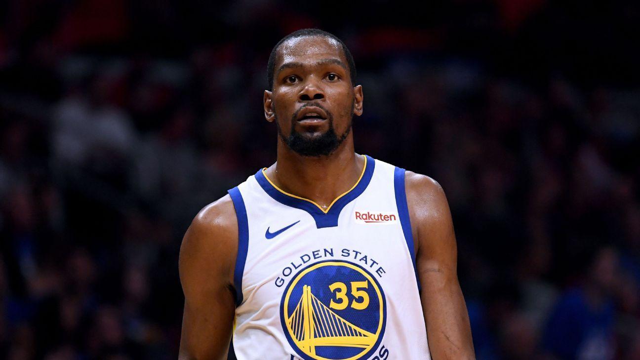 Retiran doble falta técnica a Kevin Durant