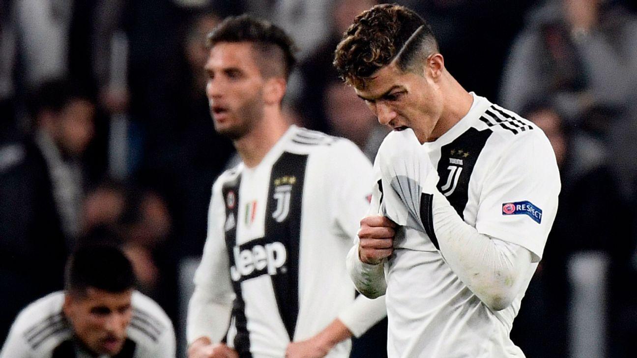 Polémica por supuesto gesto de cobardía de Cristiano contra sus compañeros de la Juventus
