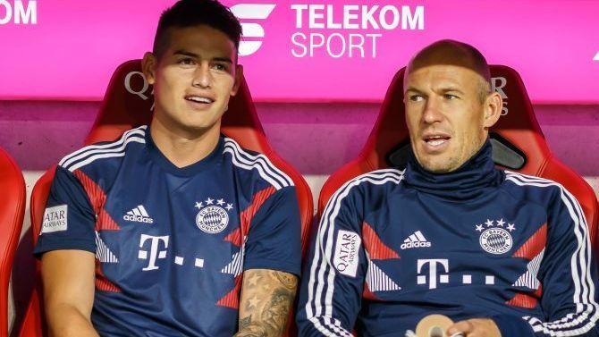 James será baja en Bayern ante Werder Bremen