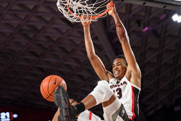 No. 40 prospect Claxton declares for NBA draft