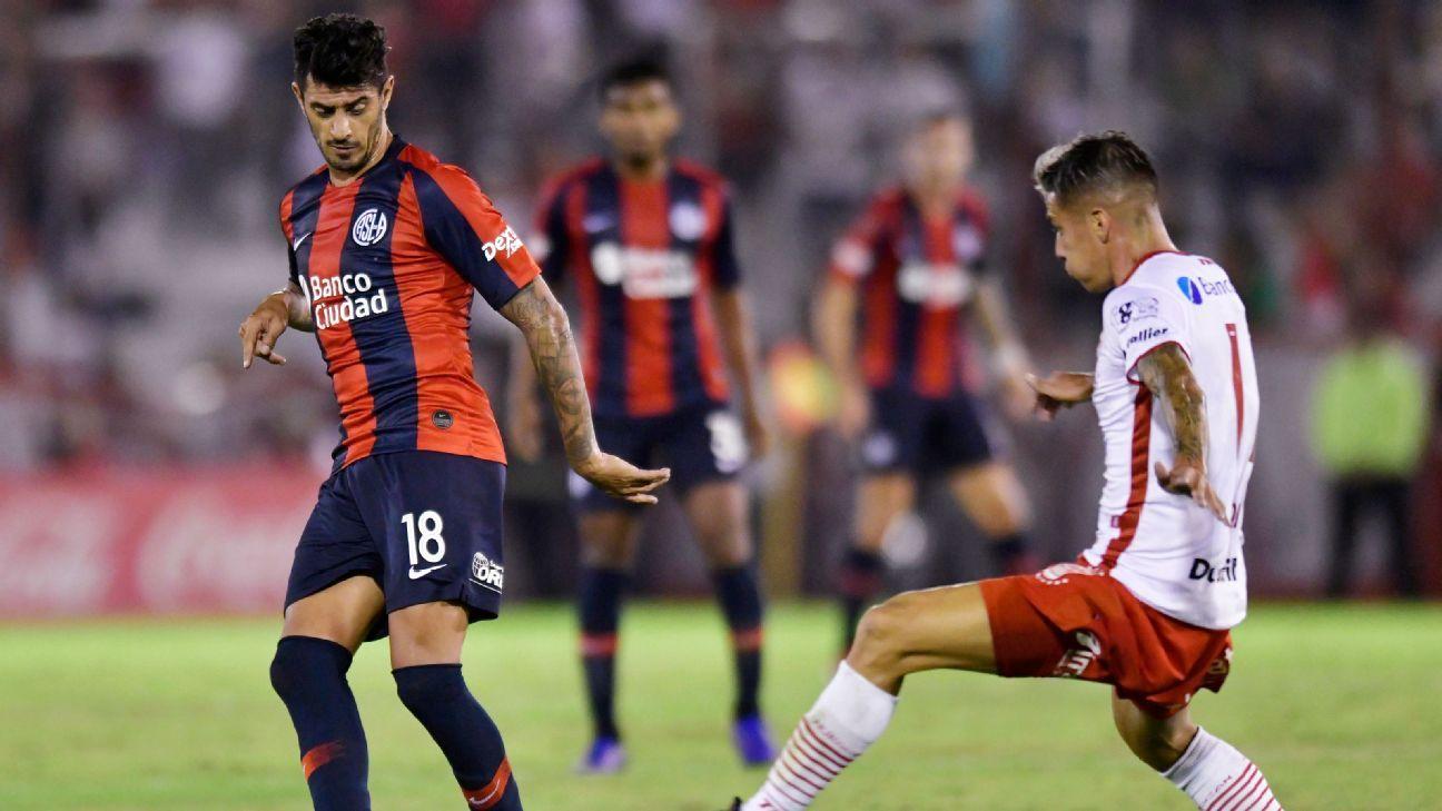 San Lorenzo venció por penales a Huracán y se metió en octavos
