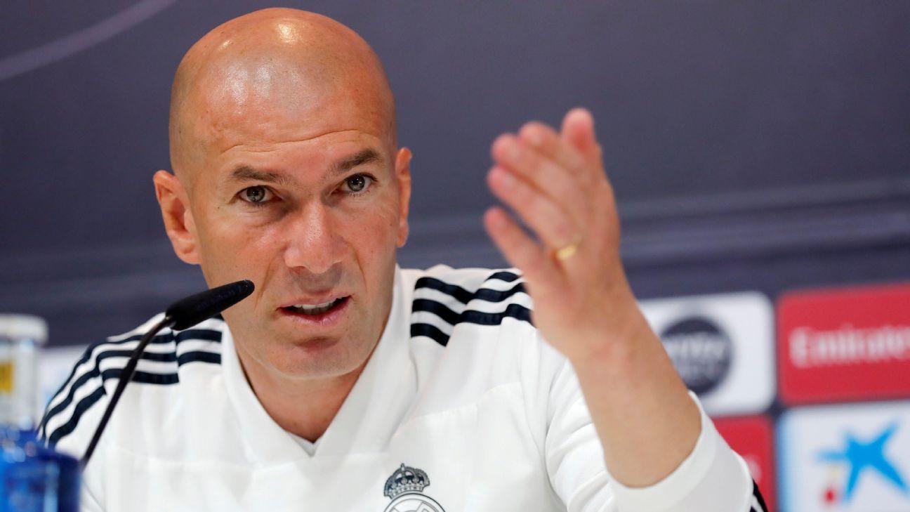 """Zidane advierte que habrá cambios """"obligatorios"""" en el Real Madrid"""