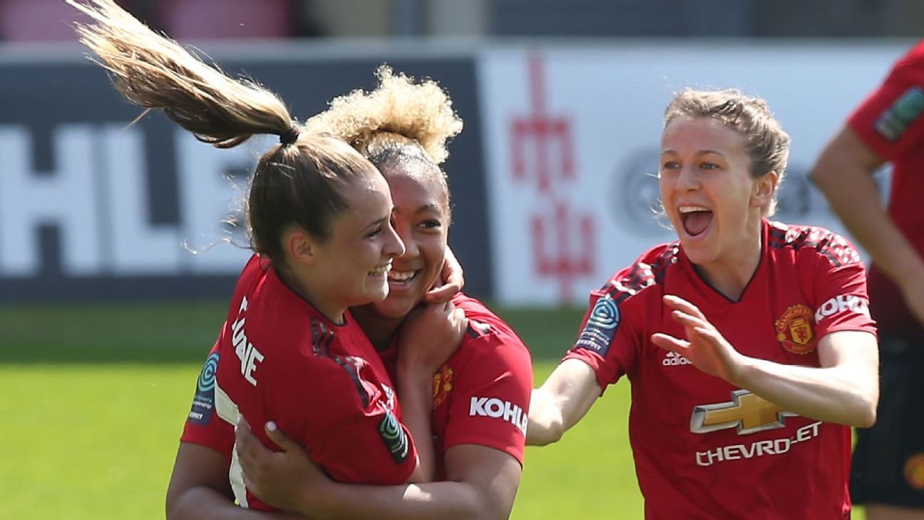 Manchester United Women confirmed as champions ahead of promotion to Women's Super League