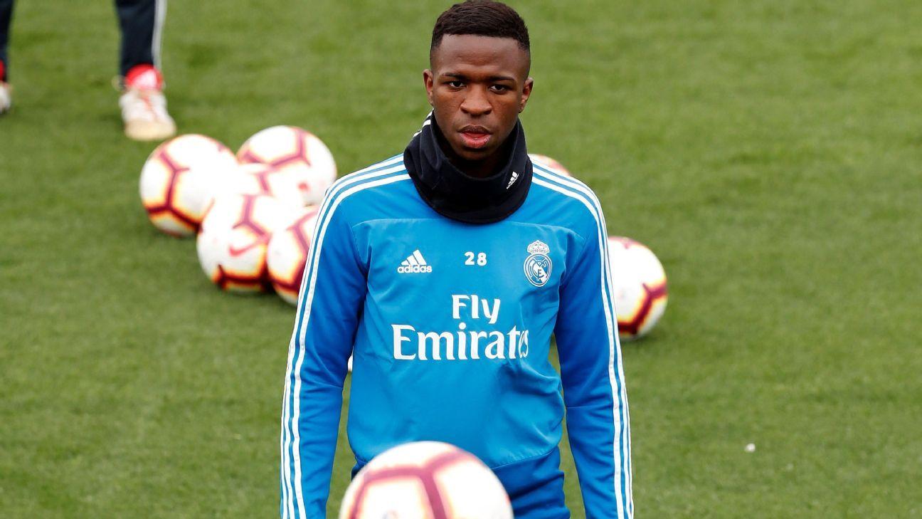 Vinicius está recuperado, pero Zidane no precipitará su regreso
