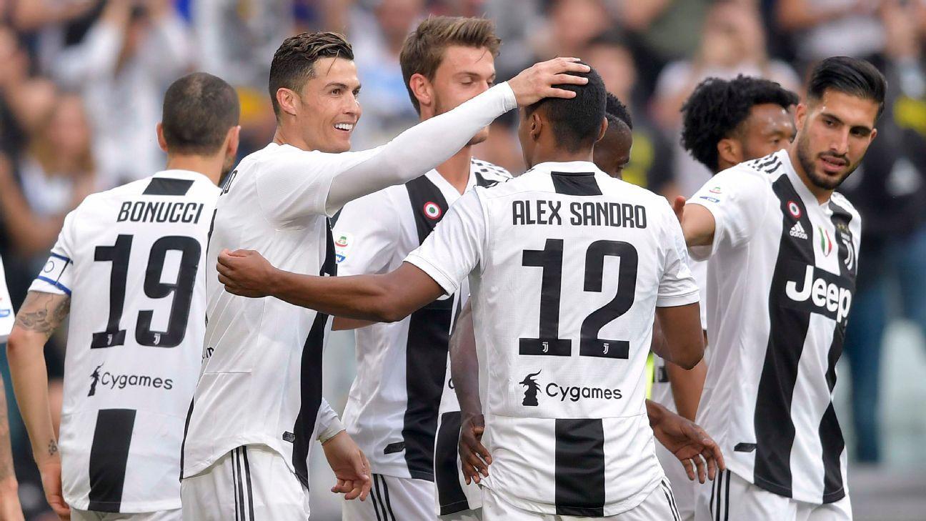 La Juventus impone récord de títulos consecutivos en las cinco grandes ligas europeas
