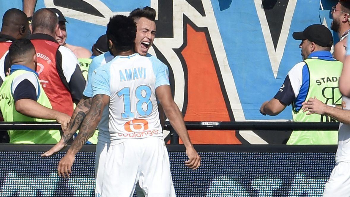 Con gol de Ocampos, Marsella derrotó a Guingamp