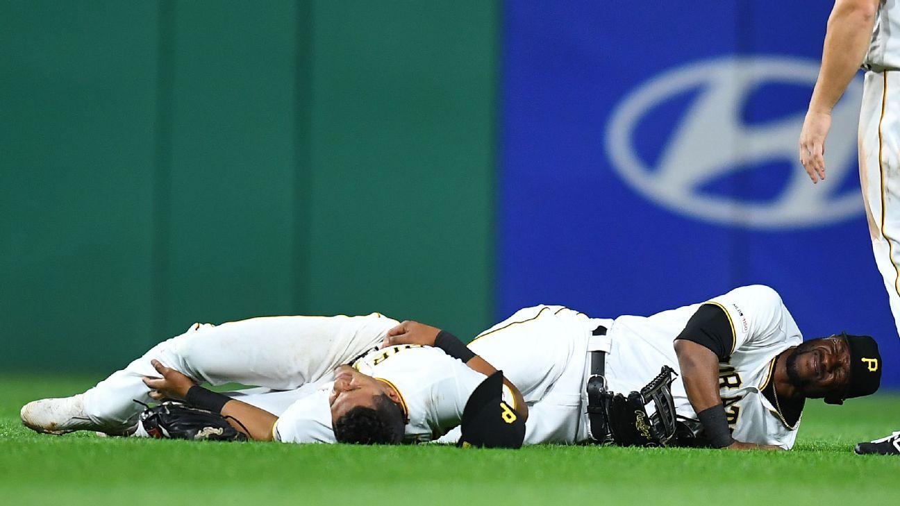 Tras choque, Marte y González, a lista de lesionados