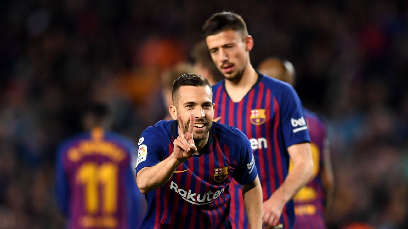 Jordi Alba, Clement Lenglet 8/10 as Barcelona do enough to beat Real Sociedad