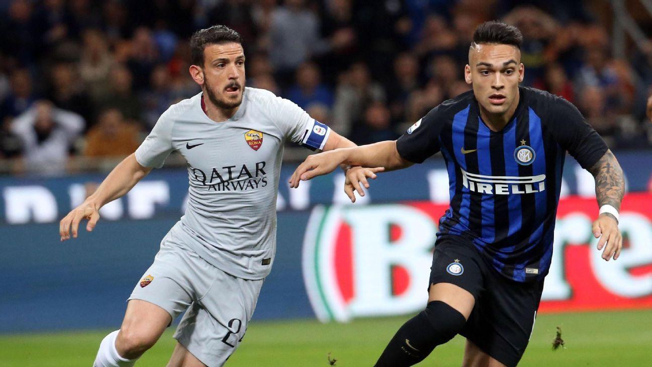 El Inter de Icardi y Lautaro empató ante Roma