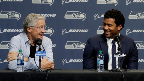 Russell Wilson's contract: No frills, lots of up-front cash