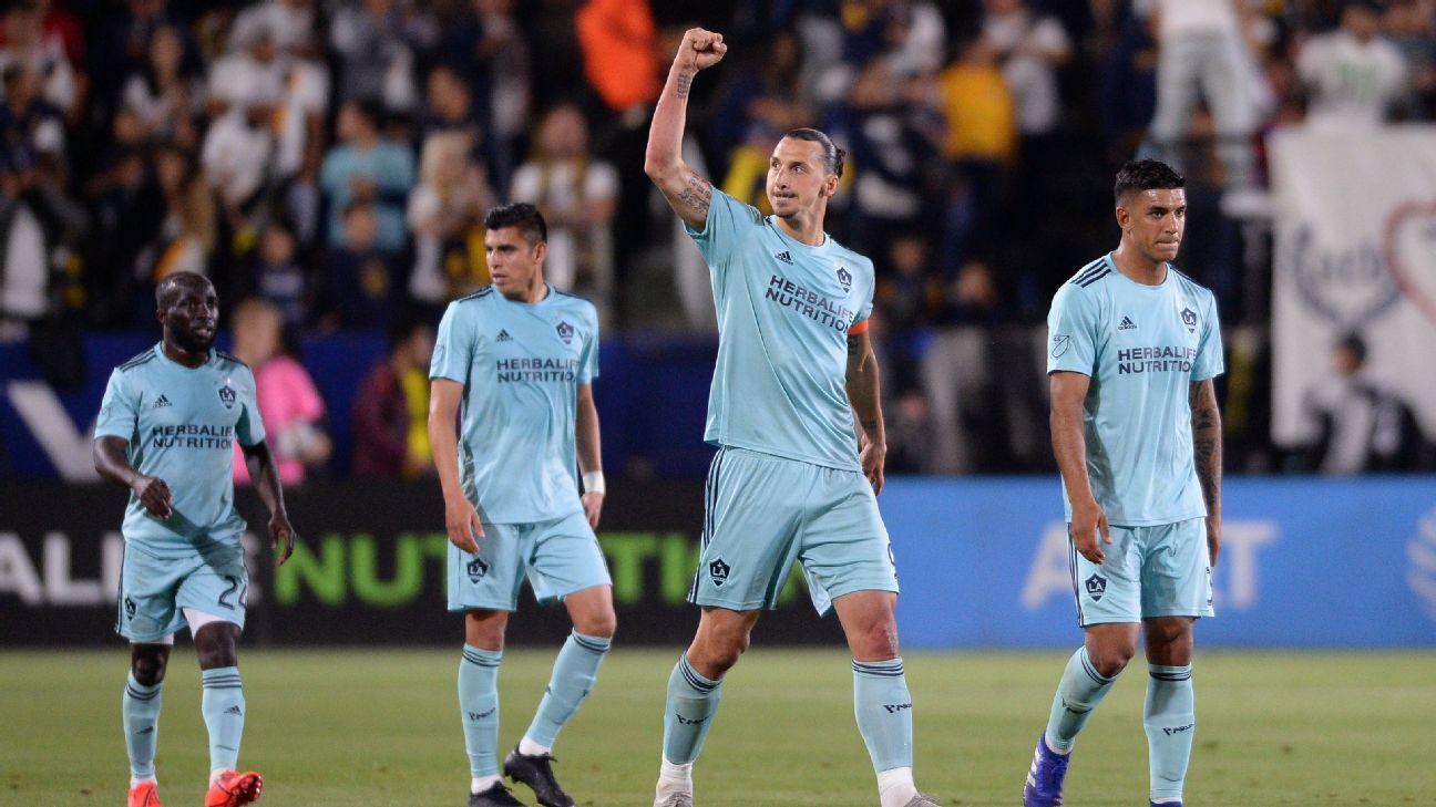 Galaxy slip past Dynamo with Polenta's 88th-minute goal