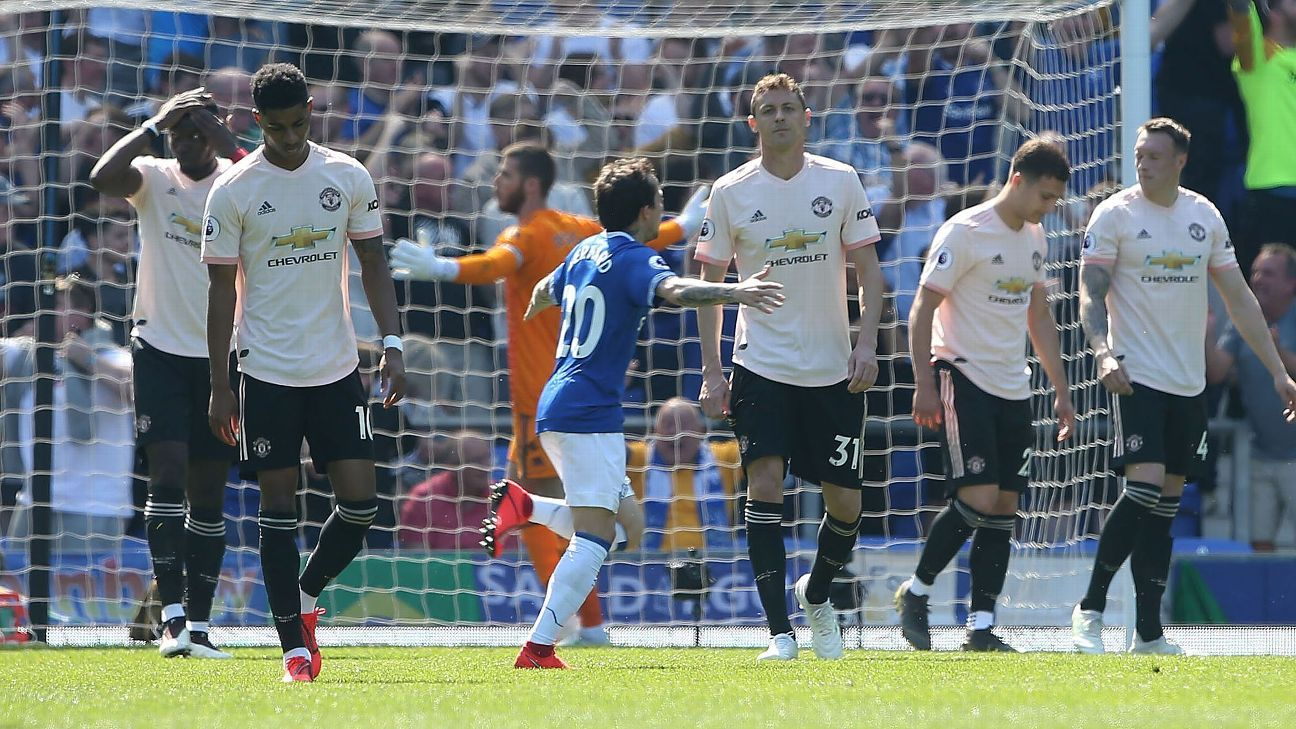 Matic: I was Man United's biggest problem in heavy defeat at Everton