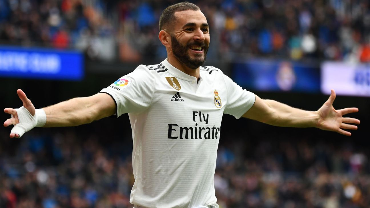 Karim Benzema leads trio of hat trick heroes in Player Power Rankings