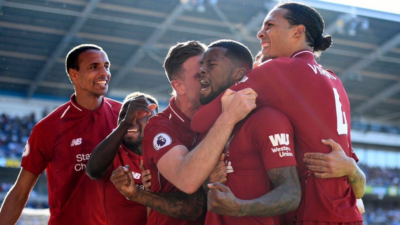 Liverpool superó a Cardiff y sigue en la cima de la Premier League