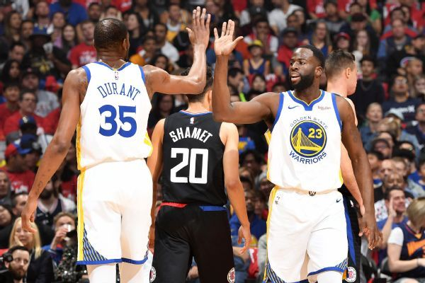 Draymond: Warriors still need KD back for Finals