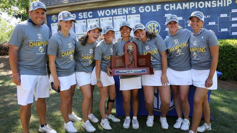 Rebels win SEC Women's Golf Championship