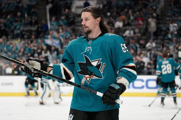 Sharks to be without Karlsson, Hertl for Game 6