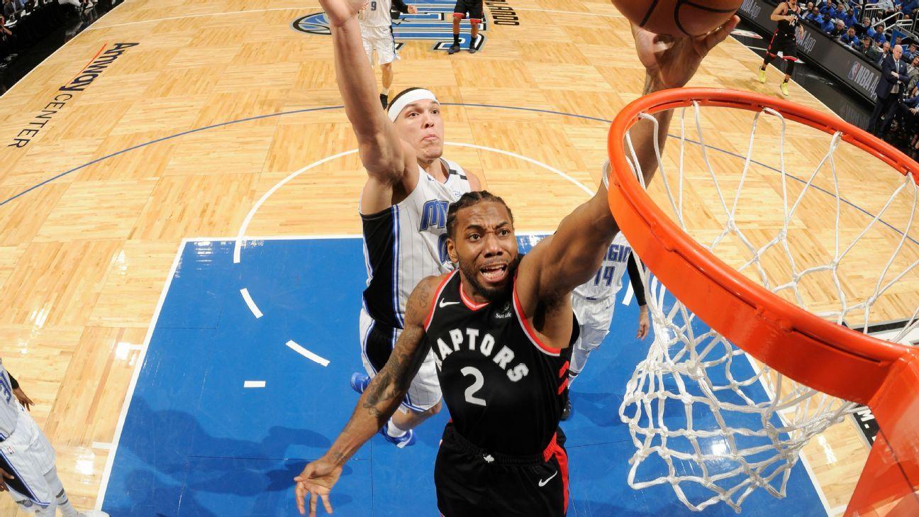 Kawhi destrói Magic, Raptors vencem e se aproximam de avançar nos playoffs da NBA
