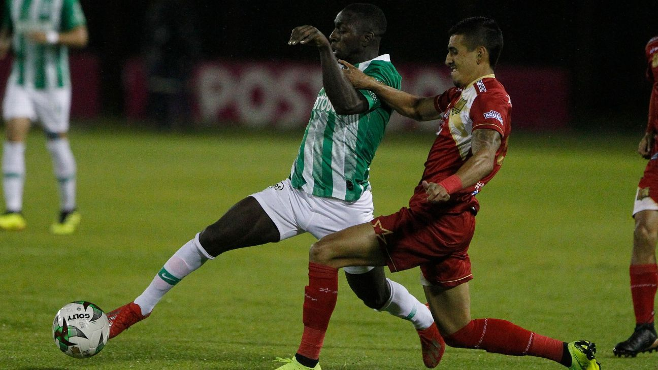 Nacional salió de los ocho tras caer con Rionegro