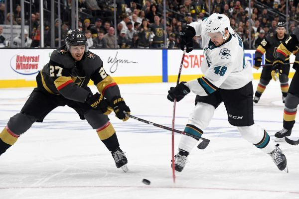 Hertl leads Sharks to win after vowing a Game 7