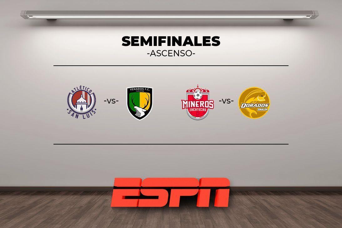 Definen horarios para semifinales del Ascenso MX