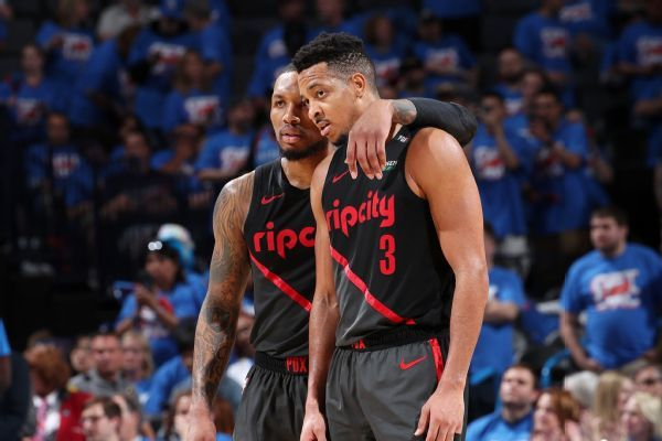 Blazers ignore trash talk, refs to beat Thunder