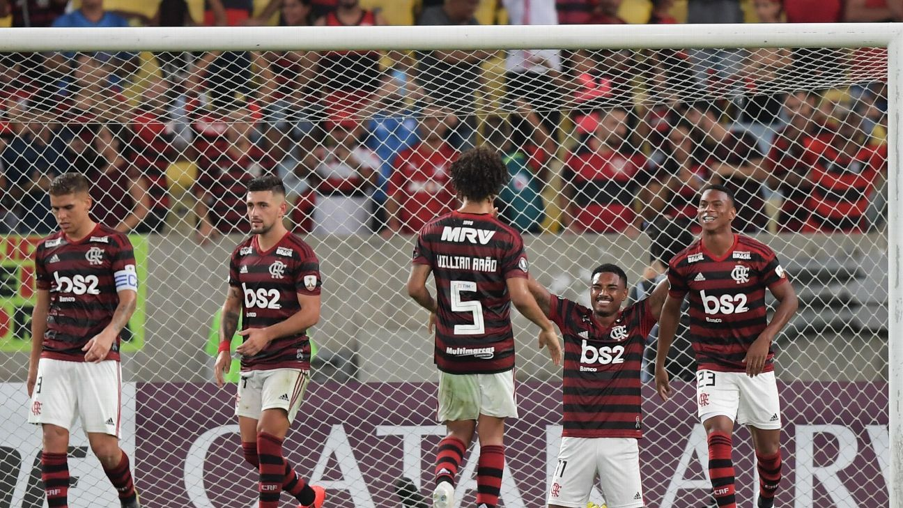 Flamengo face steep challenge in Ecuador to secure Copa Libertadores progression