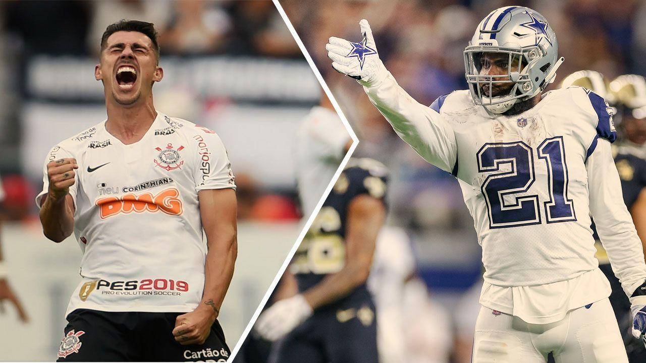 Como a torcida de Avelar levou astro da NFL a curtir o título do Corinthians