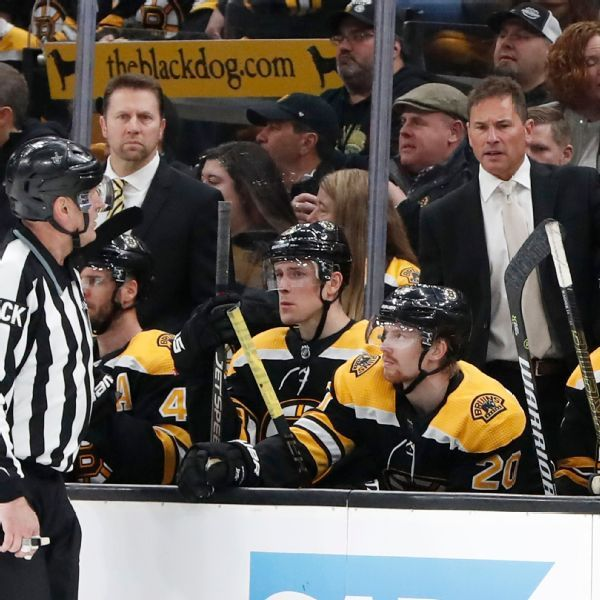 Bruins' Cassidy questions Leafs' skating tactics