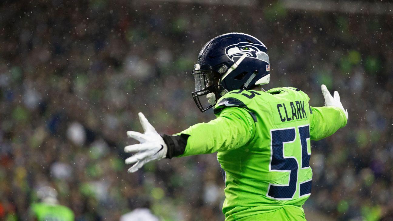 Seattle pide selección de primera ronda por Frank Clark, según fuente