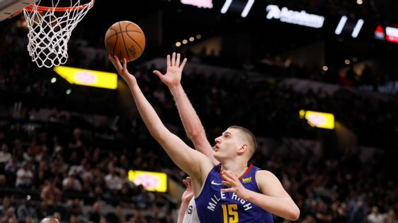 After learning from Duncan, Jokic a triple-double threat vs. Spurs