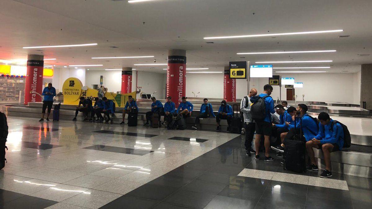 Boca no logró aterrizar en Ibagué y está en Bogotá