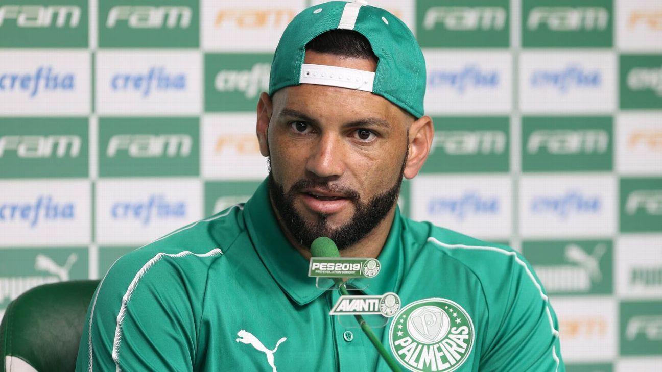 Palmeiras: Weverton diz que trabalho do clube é 'incontestável'