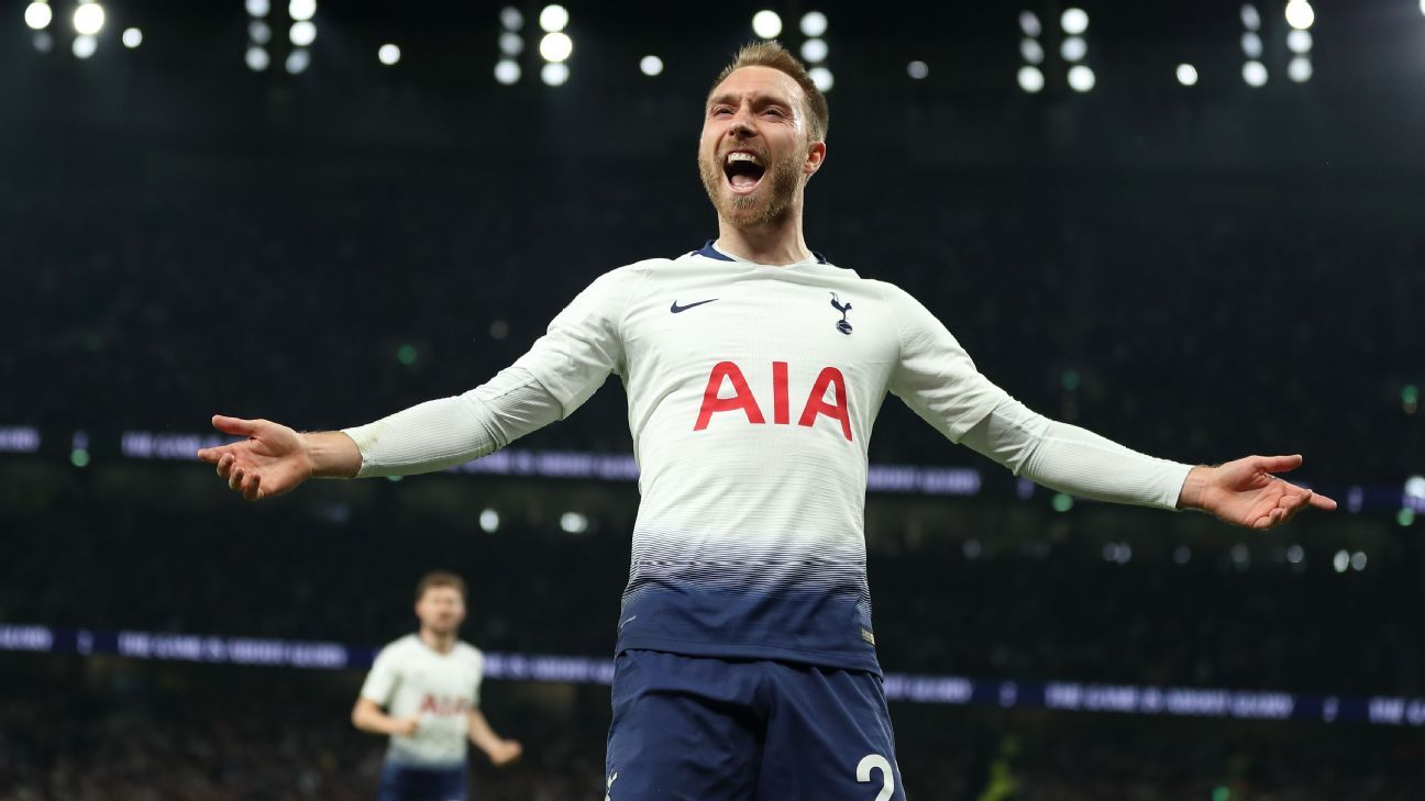 LIVE Transfer Talk: Man United want Tottenham's Eriksen as rebuild begins