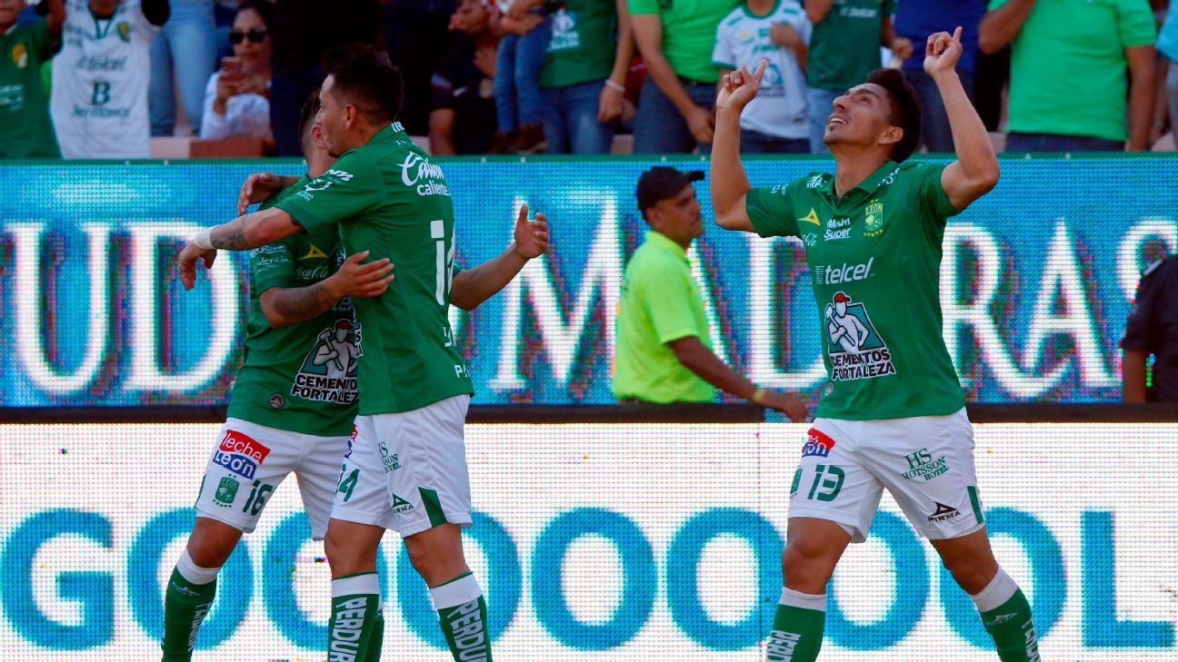 Liga MX Power Rankings: Leon stay top after 12th straight win; Toluca among the biggest risers