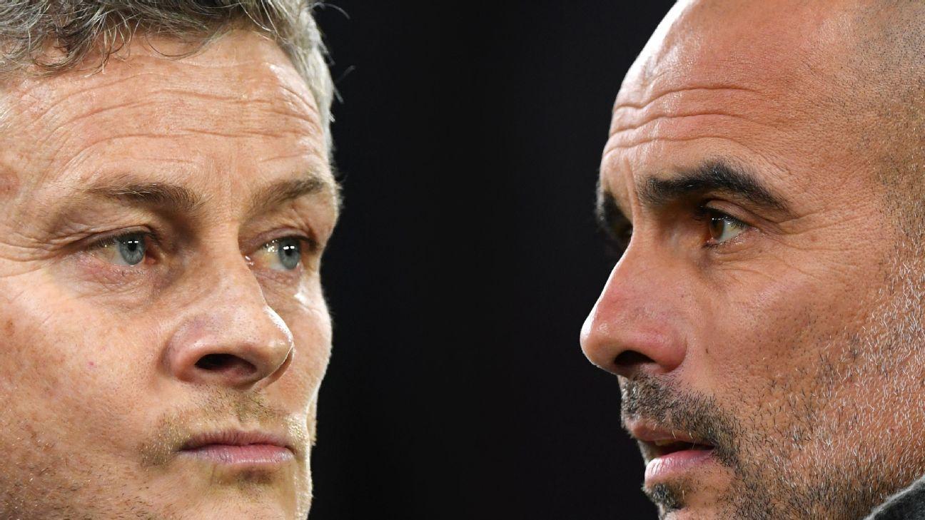 Manchester United x Manchester City: Uso de faltas táticas causa clima tenso entre Guardiola e Solskjaer