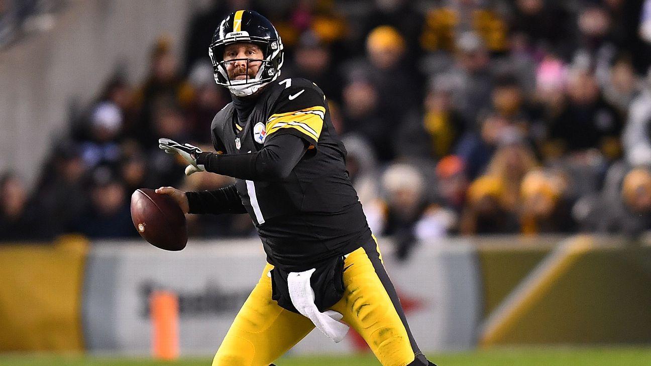 Steelers trabajan contra reloj en extensión para Ben Roethlisberger