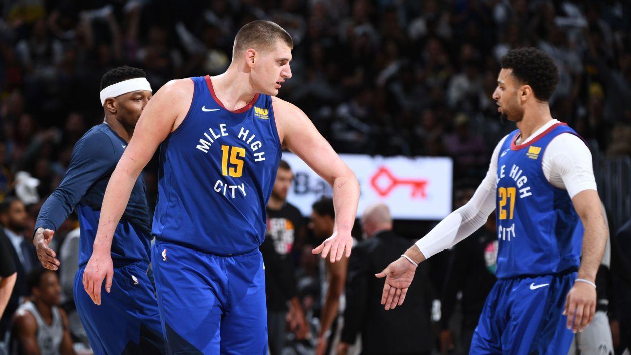 NBA: Murray e Jokic comandam, Nuggets batem Spurs e voltam a abrir vantagem na série