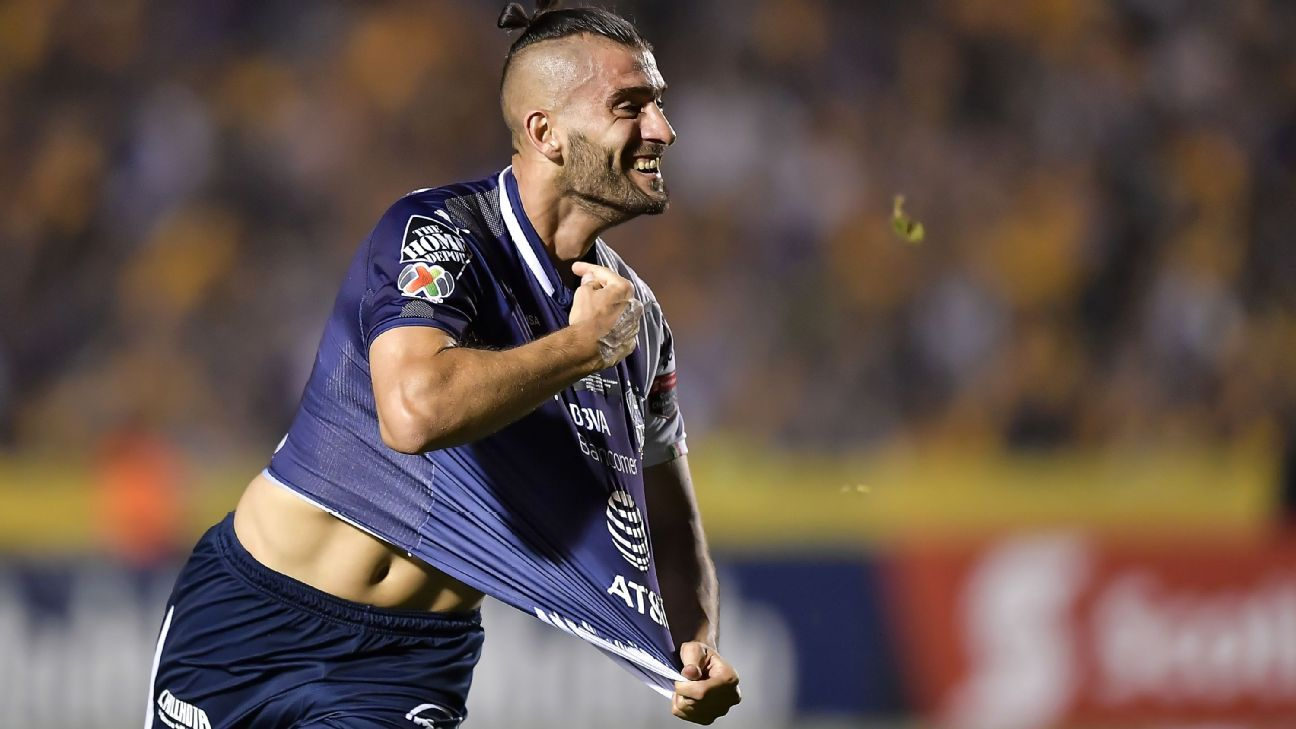 Monterrey seize lead in CONCACAF Champions League final against U.A.N.L
