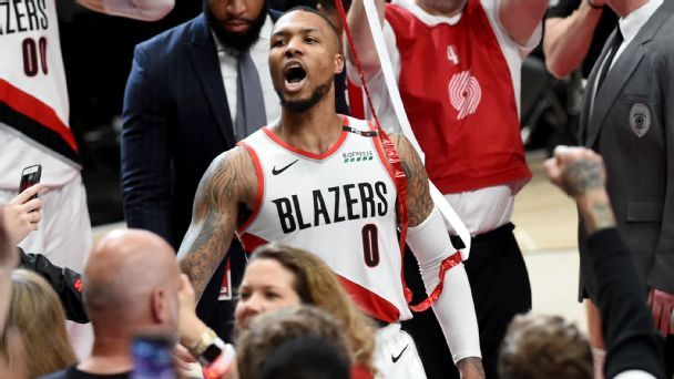 Nope, Damian Lillard's series winner wasn't a bad shot