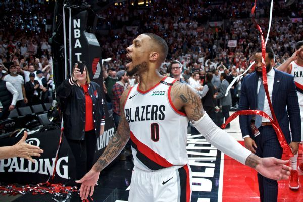 Lillard on 37-foot buzzer shot: 'The last word'