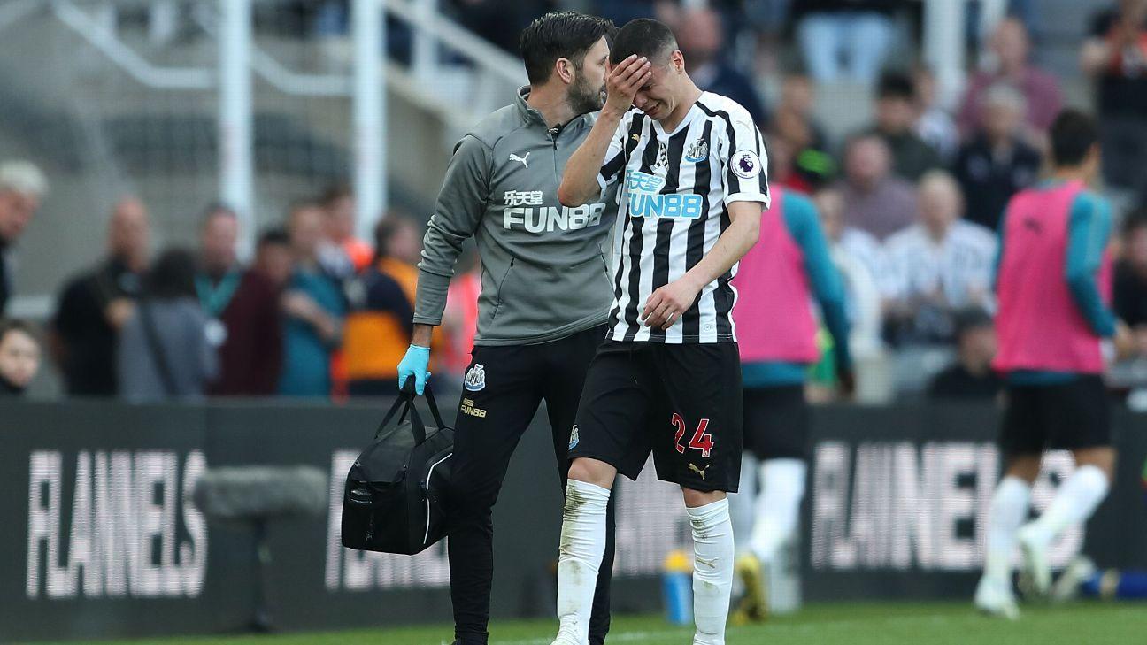 Almiron a Copa America doubt with season-ending injury