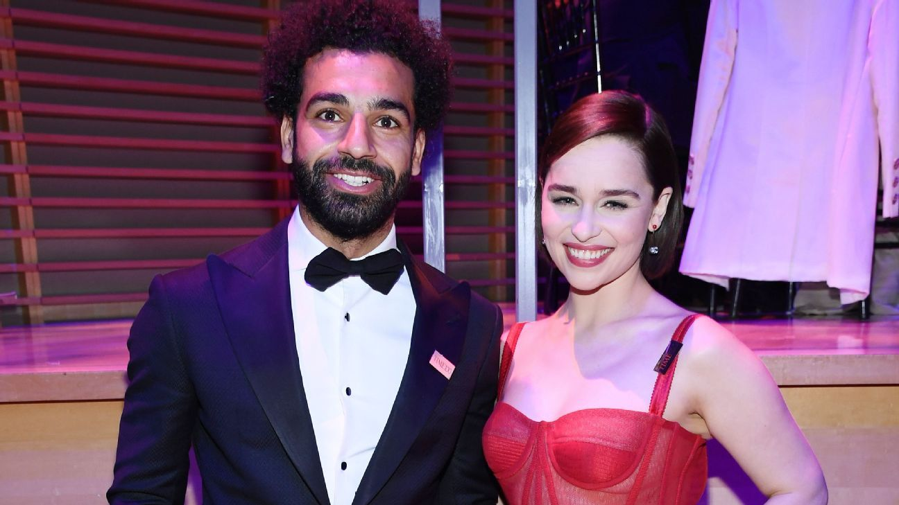 Liverpool's Mo Salah meets Game of Thrones star in whistle-stop New York trip