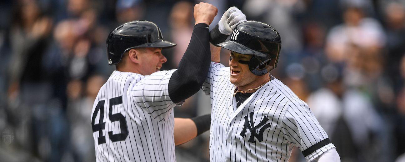 Yankees: con 13 jugadores lesionados, los suplentes se crecen