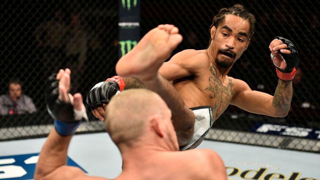 Roosevelt Roberts supera la muerte y las drogas en el camino hacia UFC