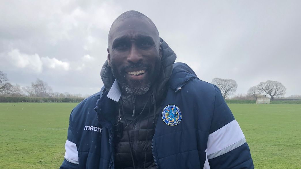 Sol Campbell starred for Arsenal and Spurs. Now he's a first-time manager leading Macclesfield's survival bid