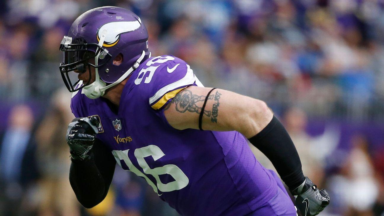 Brian Robison se retira oficialmente de la NFL con los Vikings