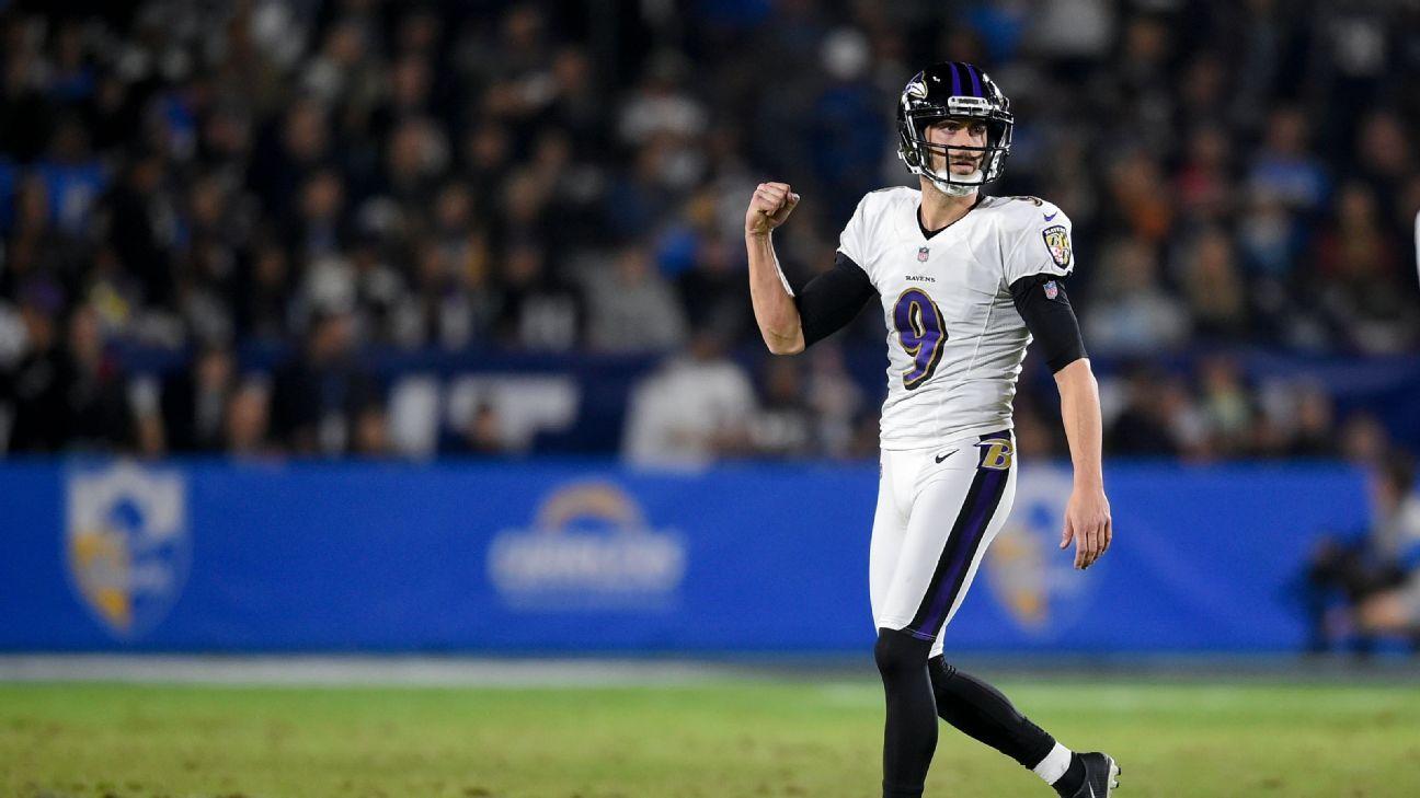 Ravens extienden los contratos de Justin Tucker y Marshal Yanda